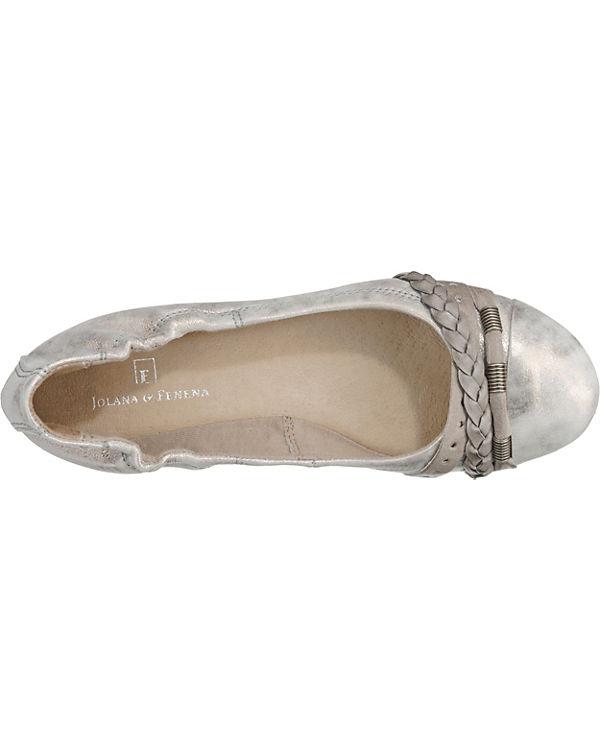 amp; beige Faltbare Ballerinas FENENA kombi JOLANA TvxH66