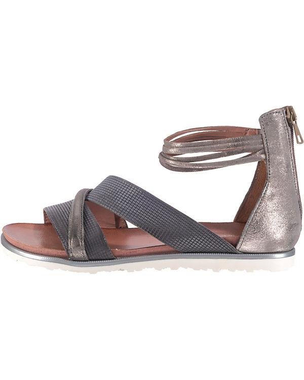 JOLANA & FENENA Klassische Sandalen grau