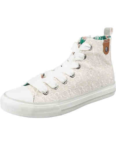 Hedi Toe Cap Sneaker All Over Emroidery Sneakers High