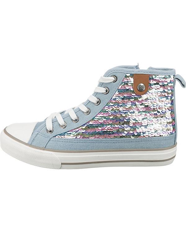 Toe Hanna mehrfarbig Preußen aus Sequin High Fritzi Cap Sneakers Sneaker n74CfBfZwx