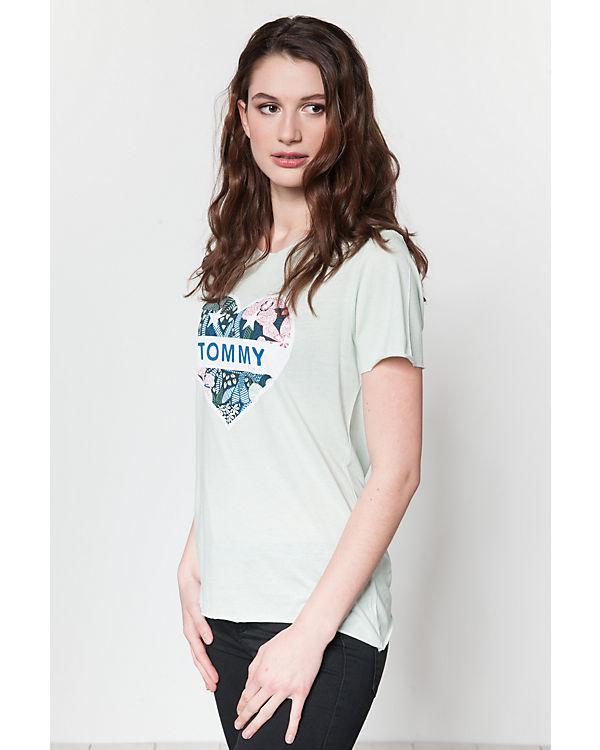 JEANS grün TOMMY TOMMY Shirt JEANS T qxESz4E