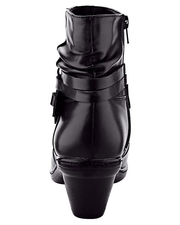 Mae&Mathilda Klassische Stiefeletten schwarz