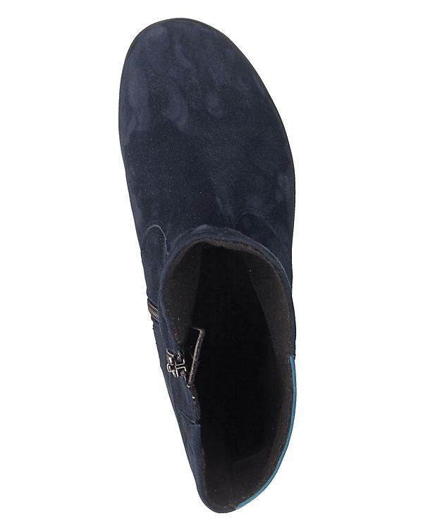 Naturläufer Klassische Stiefeletten blau-kombi
