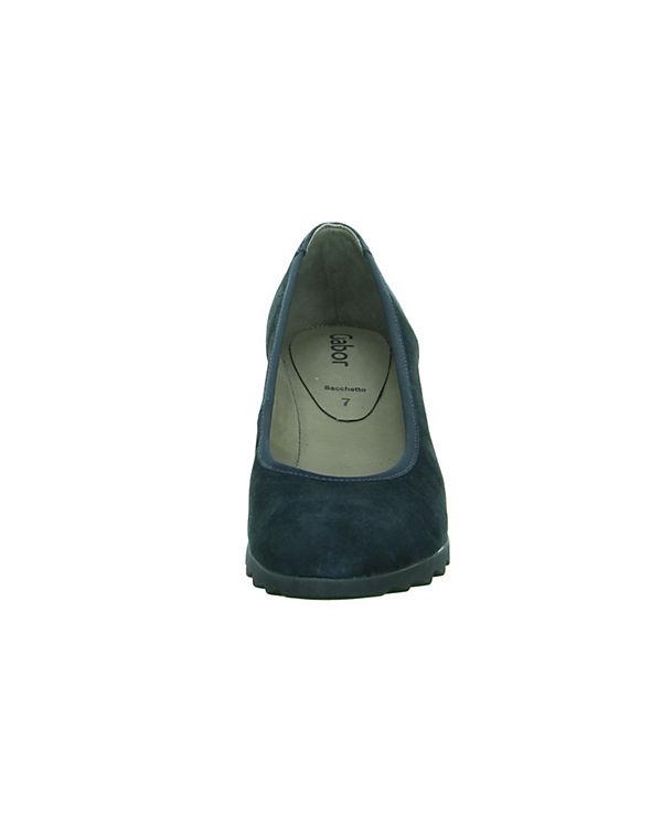 Gabor Pumps Komfort Gabor Komfort blau 7p7w4