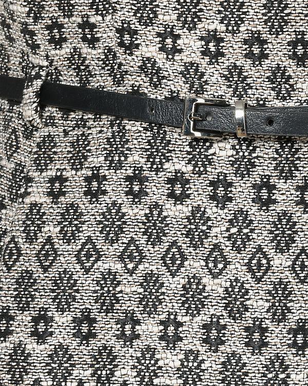 ESPRIT collection Etuikleid schwarz/weiß