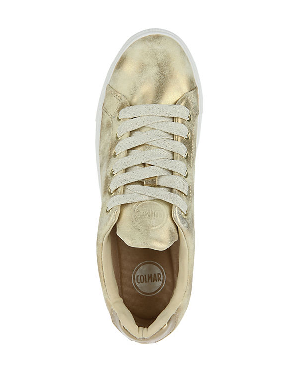 COLMAR gold Low LUX BRADBURY Sneakers RqwR7a
