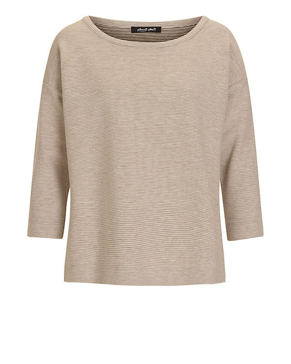 Betty Barclay Sweatshirt grau/braun