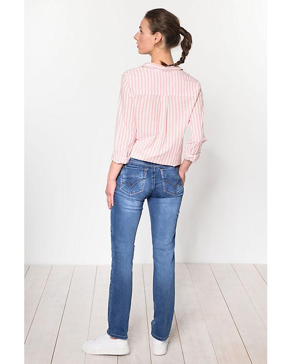 TIMEZONE blau Slim Tahila Jeans Womenshape w7zw6Hxq
