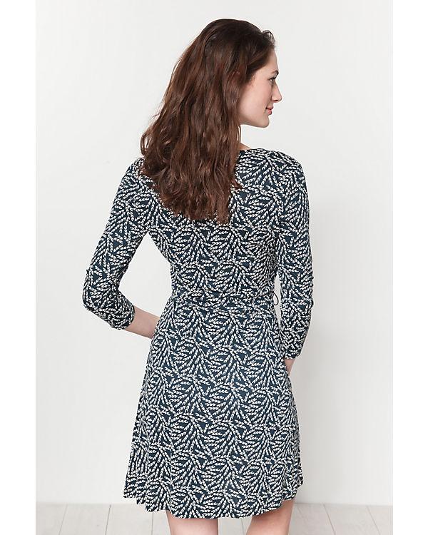 Anna Field Kleid beige/blau