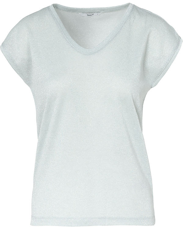 ONLY T-Shirt hellblau