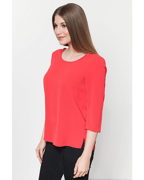 ONLY 3/4-Arm-Bluse rot