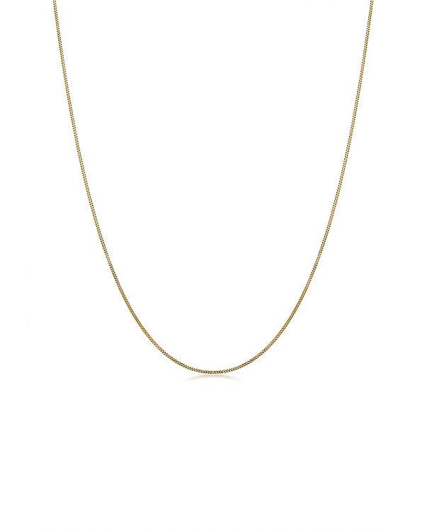 Elli PREMIUM Halskette Basic-Kette 585 Gelbgold gold
