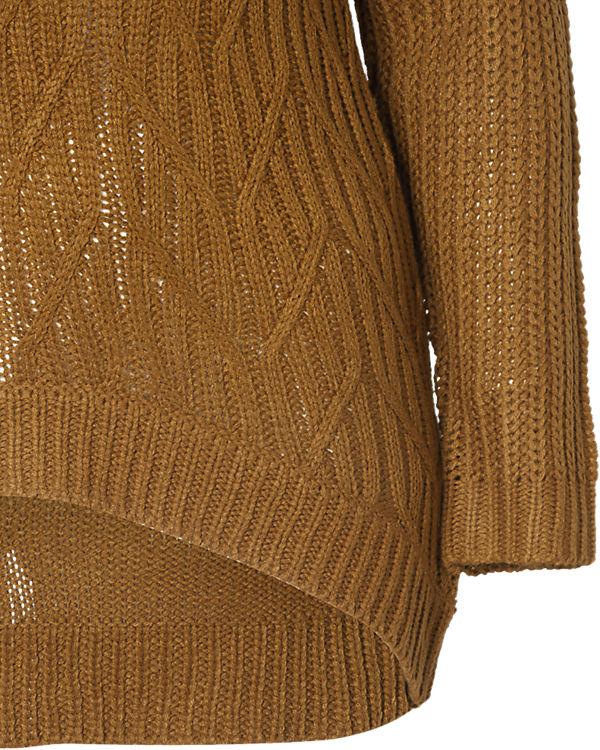 JUNAROSE Pullover braun