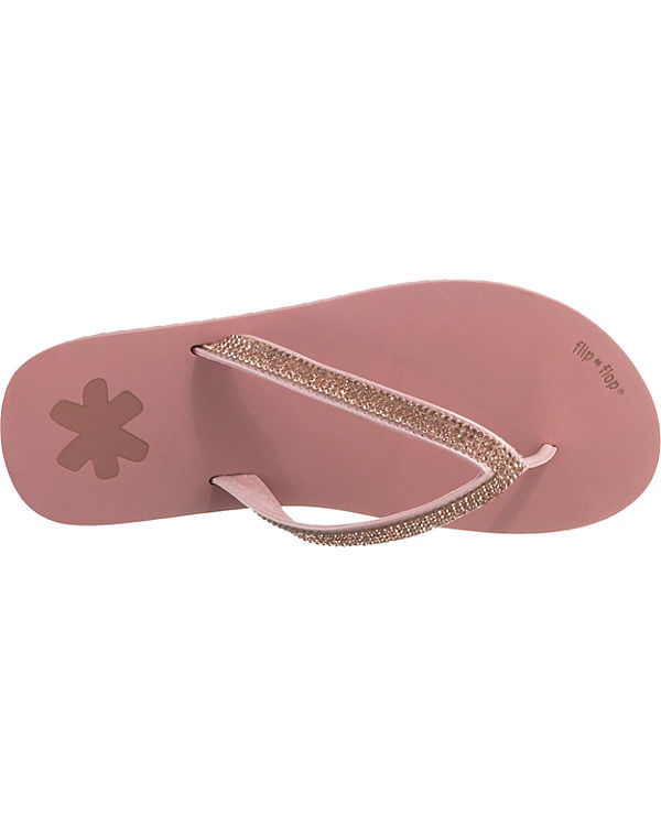 flip flop, flip glam Zehentrenner, Zehentrenner, glam rosa 487ad7