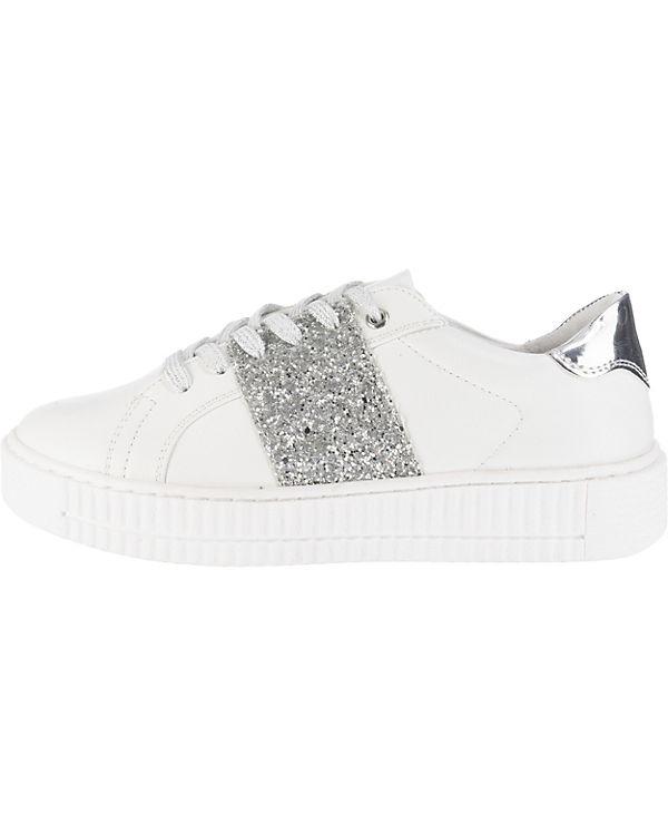 MARCO TOZZI Sneakers Low weiß-kombi