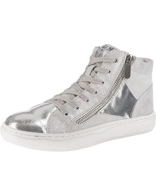 MARCO TOZZI kombi High Sneakers grau ZR6qZx