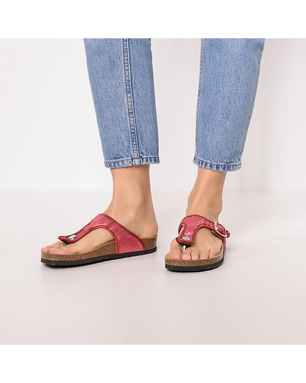 kombi OBAN SEQUINS rosa Jeans Pantoletten Pepe x7p1n1