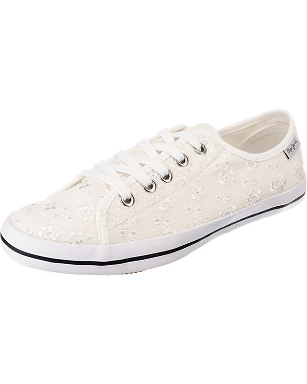 Pepe Jeans, ANGLAISE GERY ANGLAISE Jeans, Sneakers Low, weiß 70905c