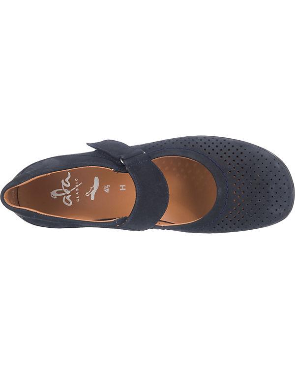 ara Andros-Tr Komfort-Halbschuhe dunkelblau