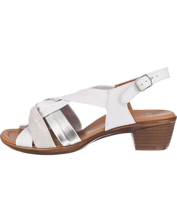 ara Lugano-S Klassische Sandaletten weiß