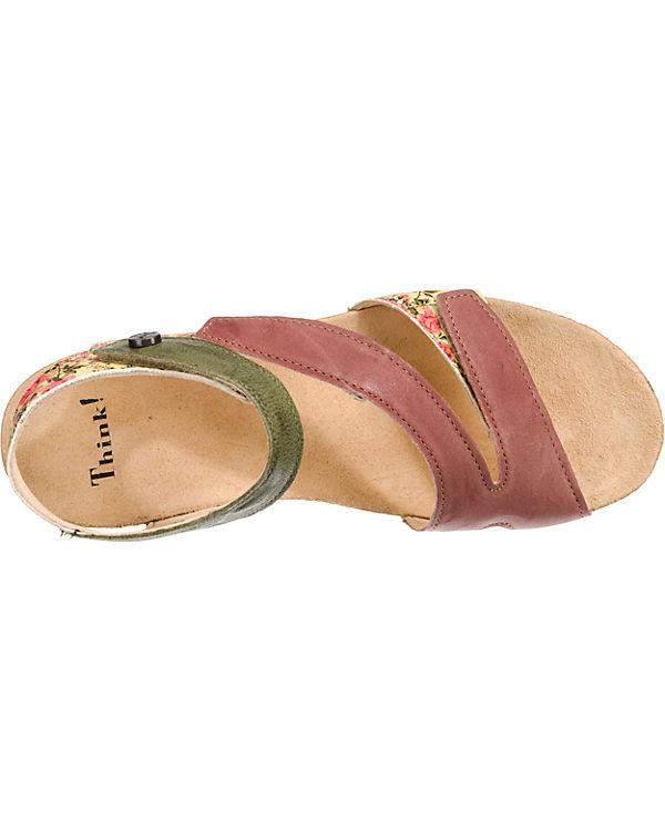 Think!, Dumia Klassische Sandaletten, Sandaletten, Sandaletten, mehrfarbig 6cb4ec