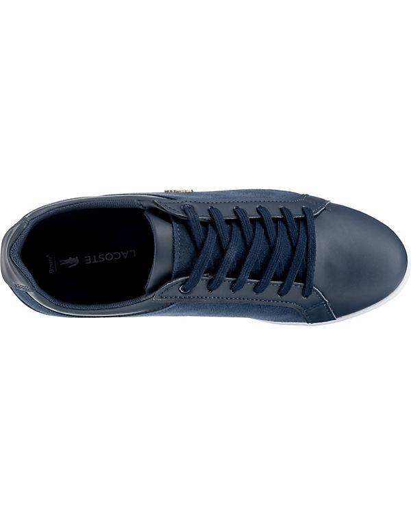 WHT OFF CAW LACE 218 Low WHT dunkelblau Sneakers LACOSTE 1 REY xCUCZA