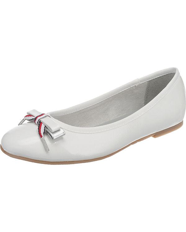 Tamaris Klassische Ballerinas weiß Spielraum Komfortabel Echt Outlet Shop Angebot Offizieller Günstiger Preis pcZWy