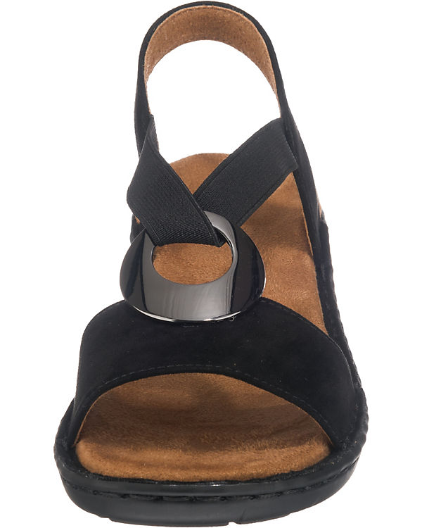 JENNY Korsika Klassische Sandalen schwarz