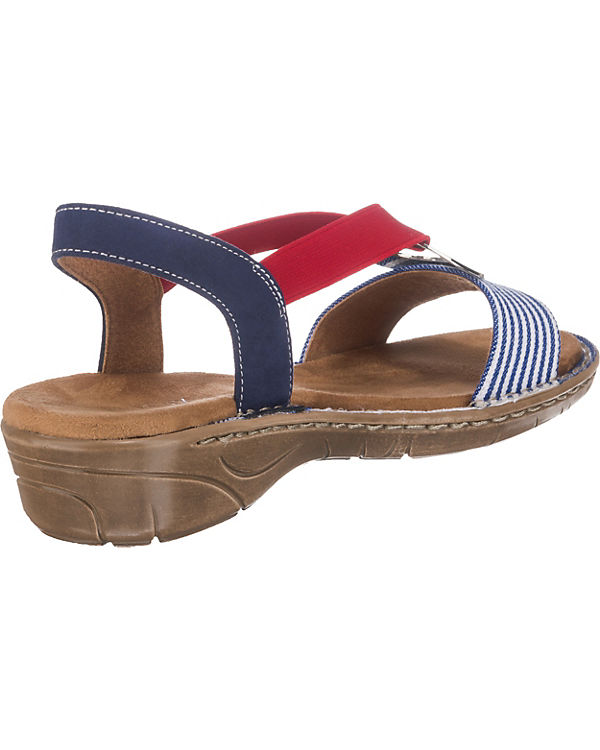JENNY, Korsika Korsika Korsika Klassische Sandalen, blau 1328bc