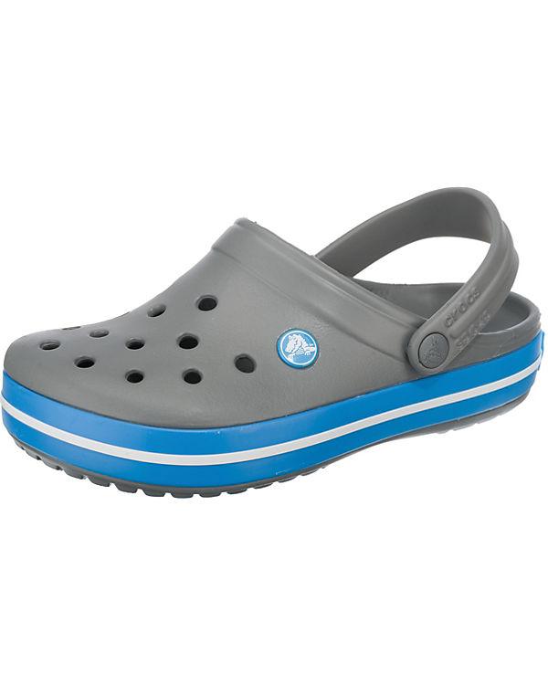 crocs Crocband Char/Ocn Clogs grau-kombi