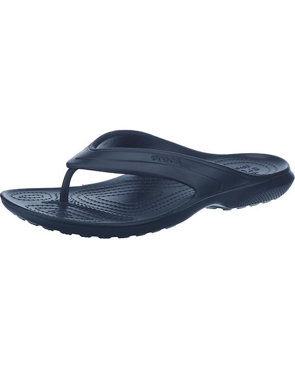 crocs Classic Flip Navy Zehentrenner dunkelblau