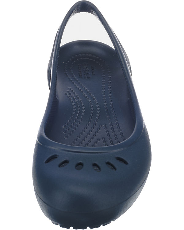 crocs, Kadee Slingback W Komfort-Ballerinas, Navy Komfort-Ballerinas, W blau 18a404