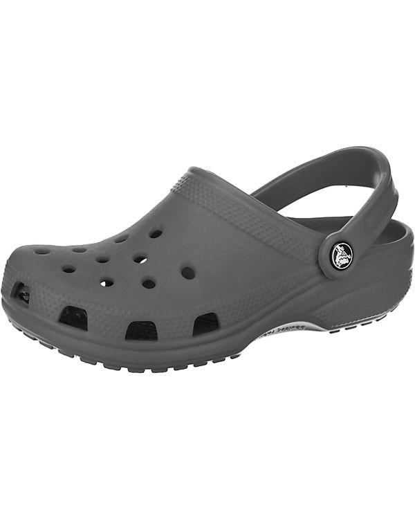 crocs Classic SltGry Clogs grau