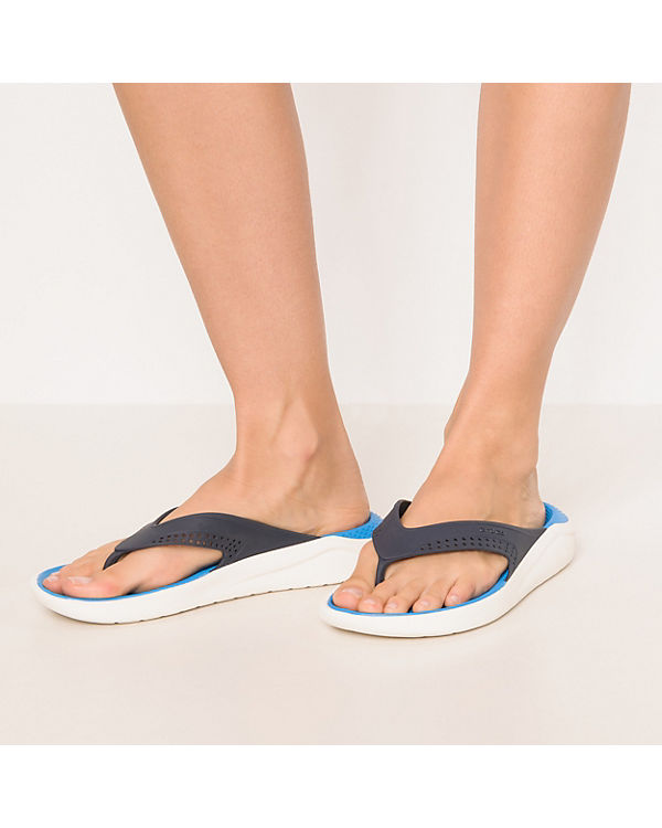 LiteRide crocs Zehentrenner blau kombi Flip 8wqR0wA