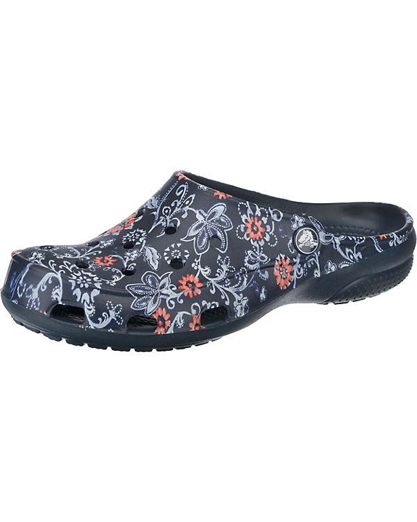 crocs Crocs Freesail Graphic Clog W Tropical Floral/White Clogs bunt