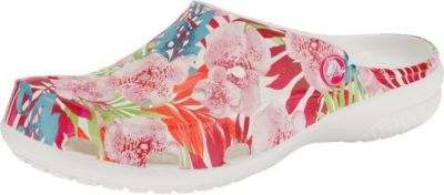 Crocs CROCS Freesail Graphic Clog W Tropical Floral/White Clogs, bunt, bunt