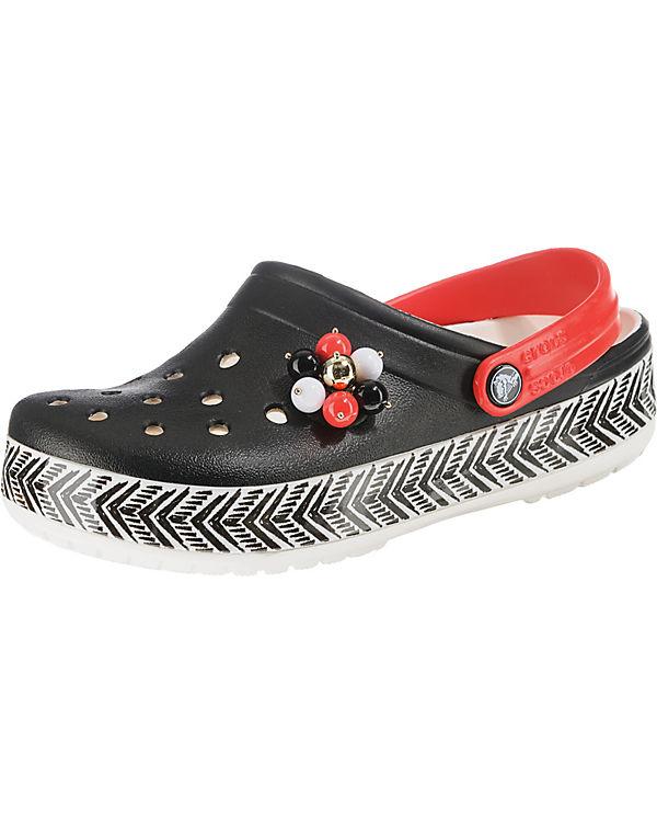 crocs CB Tribal Clogs schwarz-kombi