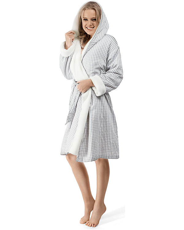 Skiny Bademantel Sleep&Dream beige