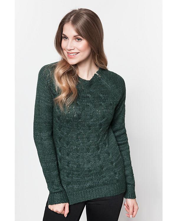 VERO MODA Pullover grün