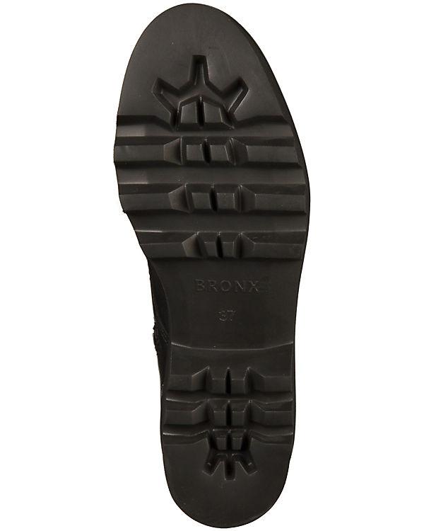 BRONX Stiefeletten schwarz