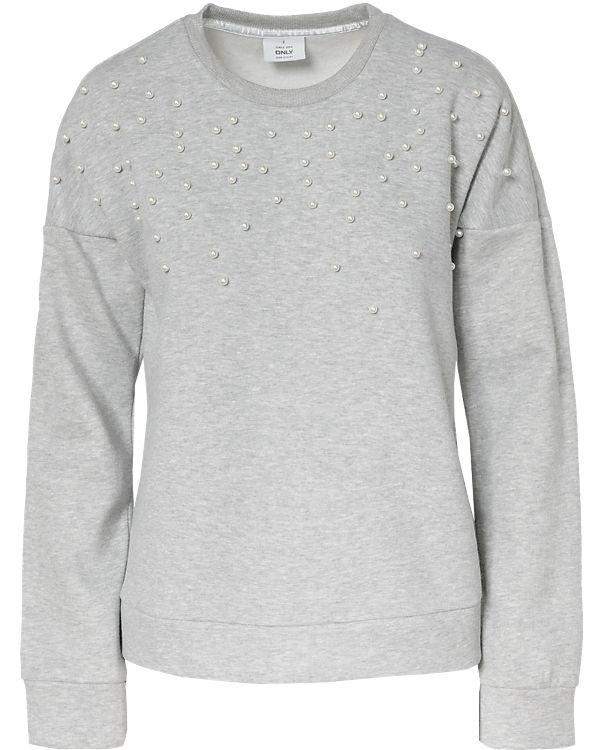 hellgrau Sweatshirt ONLY hellgrau ONLY hellgrau hellgrau ONLY Sweatshirt Sweatshirt Sweatshirt ONLY ONLY hellgrau Sweatshirt BdgxT5wA