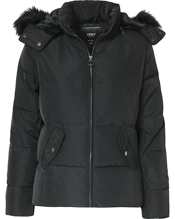 ONLY Steppjacke schwarz