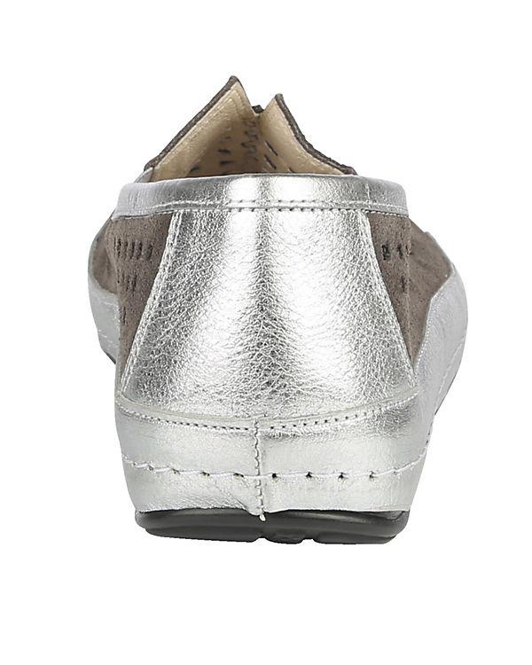 Naturläufer Komfort-Slipper grau