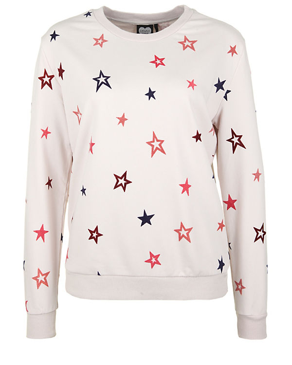 CATWALK JUNKIE Sweatshirt VELVET STARS offwhite