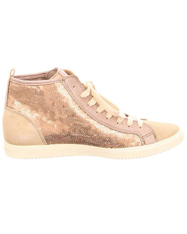Paul Green Sneakers High silber