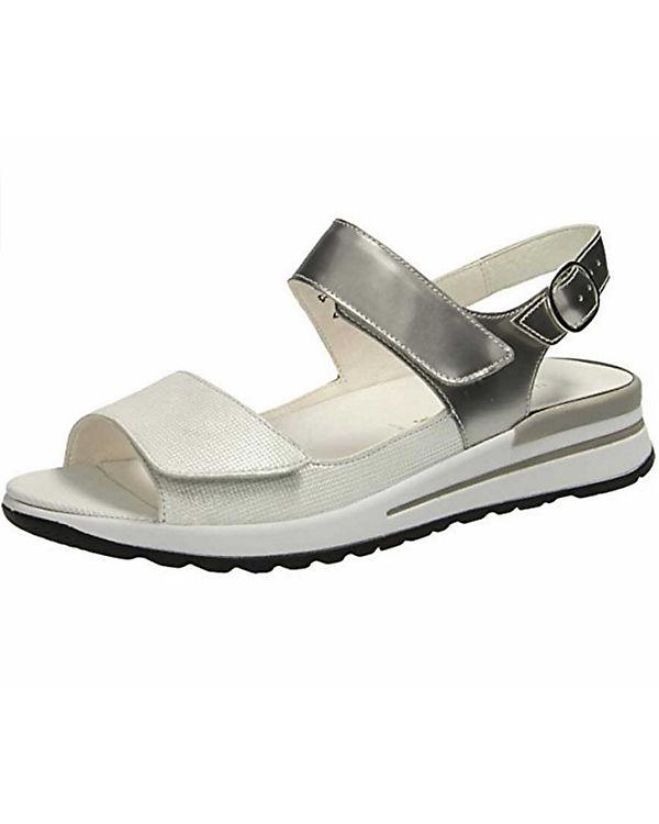 WALDL脛UFER Klassische Sandaletten silber