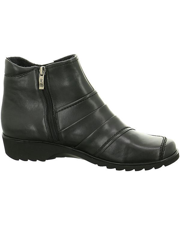 ara Komfort-Stiefeletten schwarz