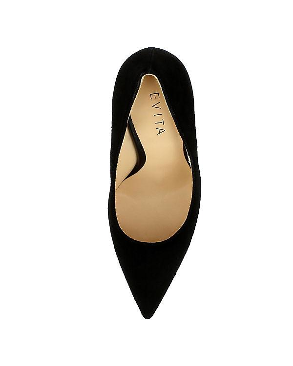 Evita schwarz Shoes, Klassische Pumps DESIDERIA, schwarz Evita 03b7cd