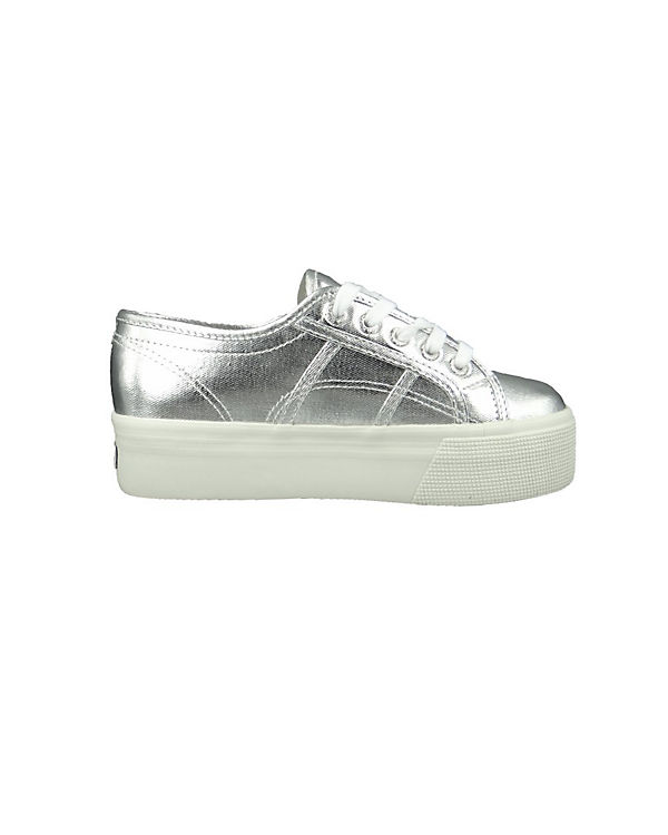 Superga® Cotmetw Low 2790 silber Sneakers ZZwa1qr