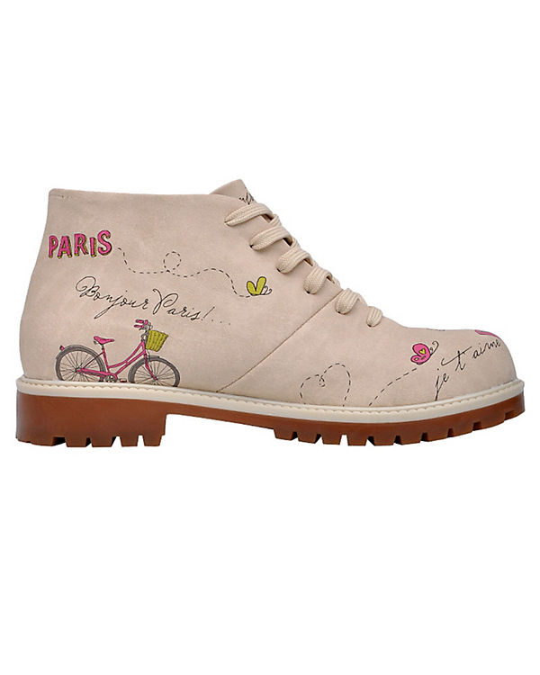 Shoes Schn眉rstiefeletten Dogo Schn眉rstiefeletten Boots Shoes Dogo Boots Paris Paris mehrfarbig mehrfarbig wn0FqqtAx